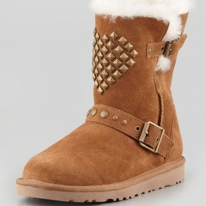 UGG Shoes - Adrianna Studded Heart UGG Boots